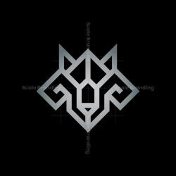 Glyph Wolf Logo