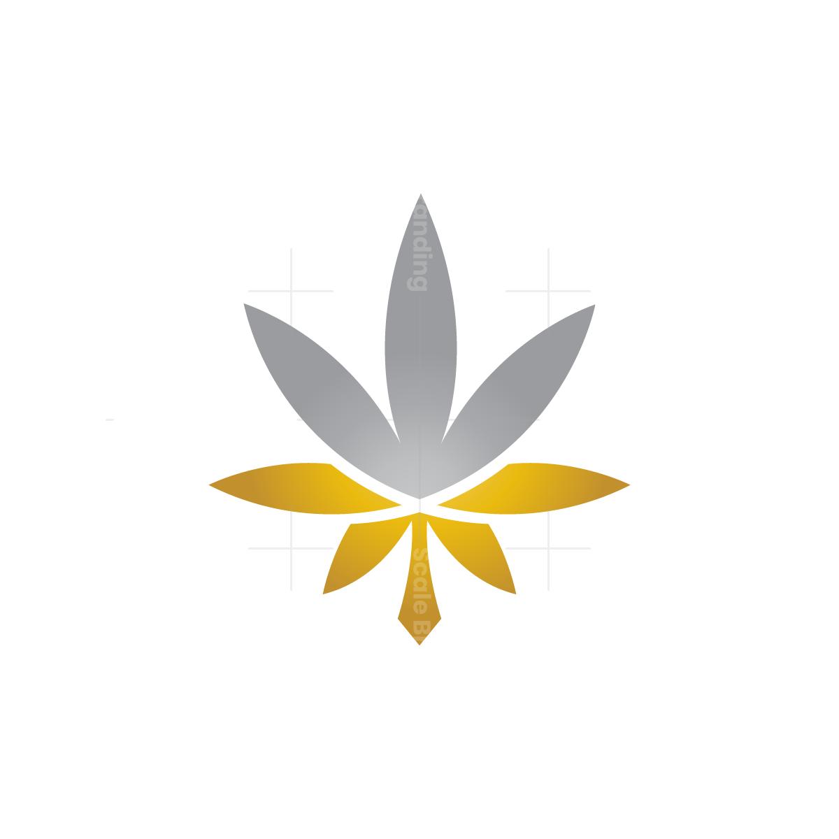 Gold Silver Cannabis Logo