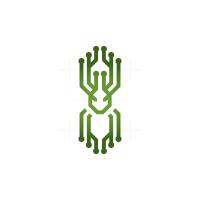 Technology Alien Logo