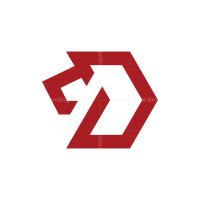 Hexagon Lion Logo