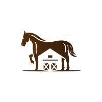 Barn Horse Logo