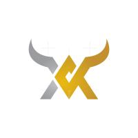 Letters A V Bull Logo
