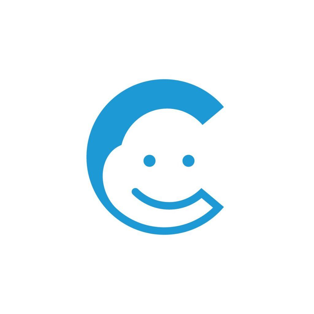 Letter C Cloud Logo