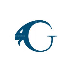 Letter G Goat Logo