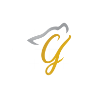 Letter G Wolf Head Logo