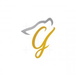 Letter G Wolf Logo