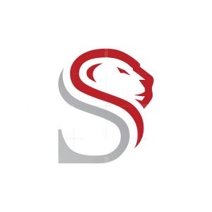Letter S Lion Logo