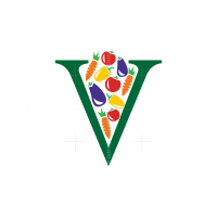 Letter V Vegetables Logo
