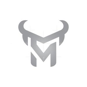 Letters M V Bull Logo