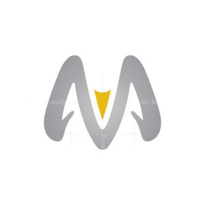Letters M V Ram Logo