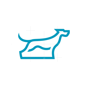 Line Dog Logo