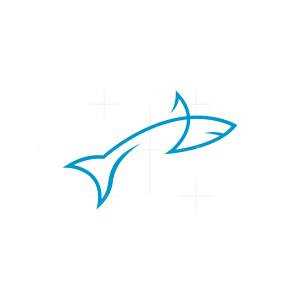 Line Shark Logo