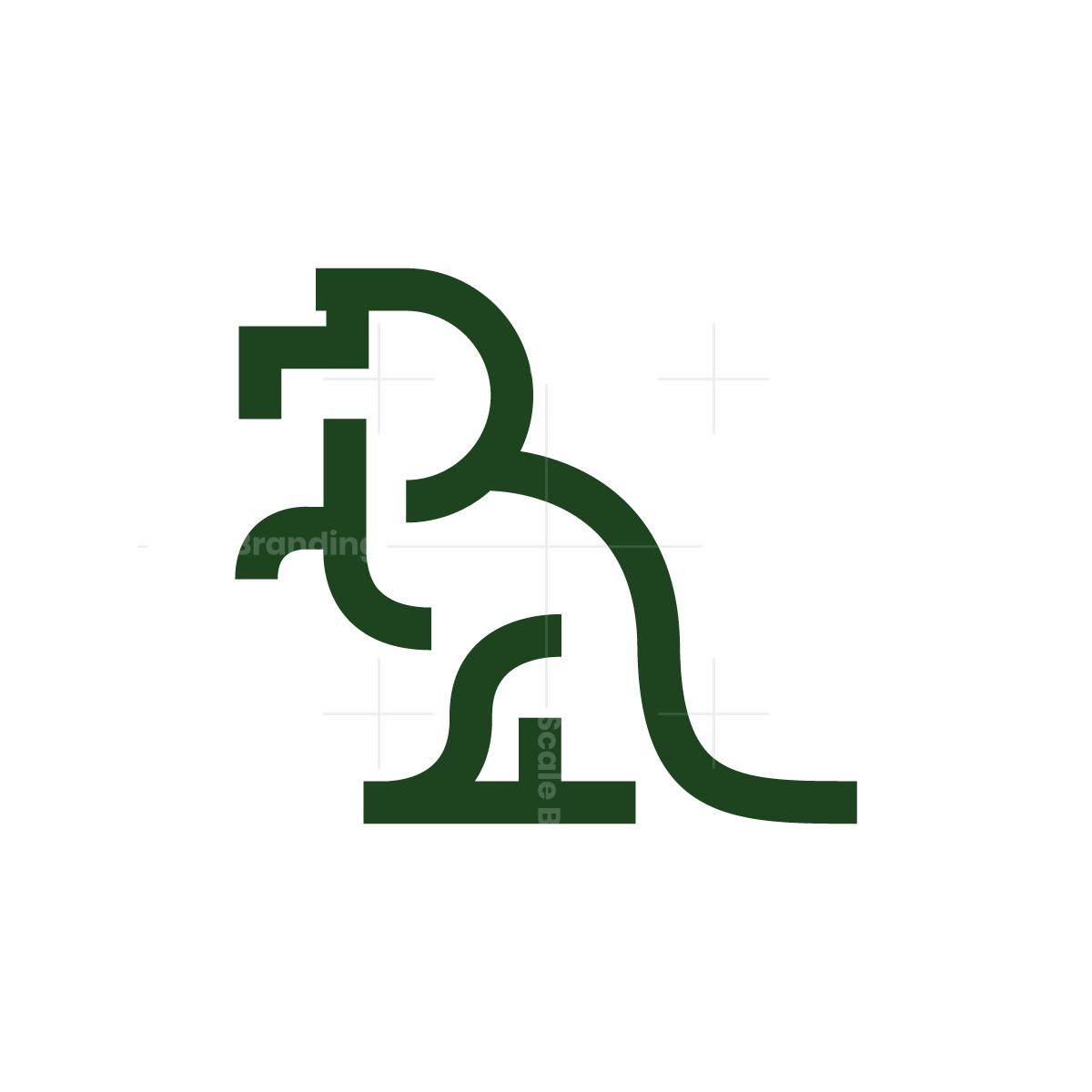 Dinosaur T-Rex Logo