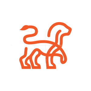 Linear Lion Logo