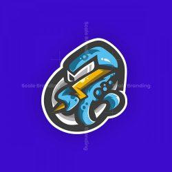 Logo Mascot Octopus