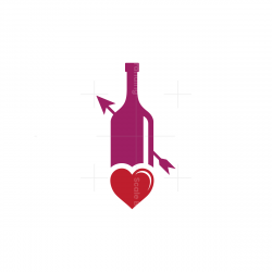 Heart Love Wine Logo