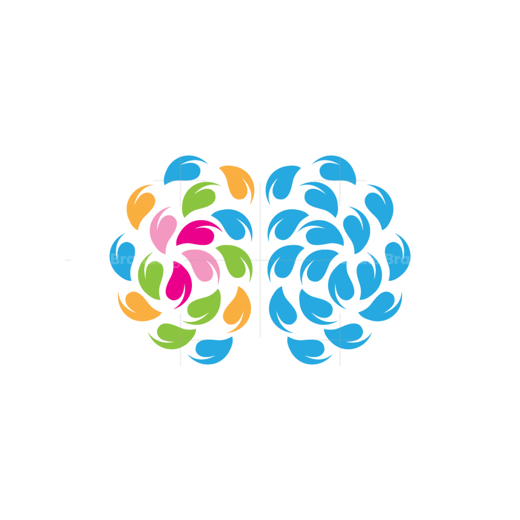 Nature Leaves Brain Logo