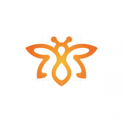 Orange Bee Logo