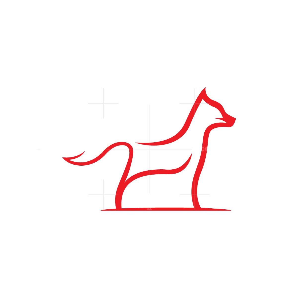 Red Lines Fox Logo