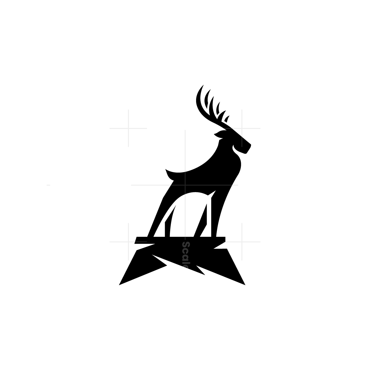 Rock Deer Logo