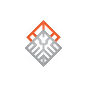 Crowned Lion King Logo