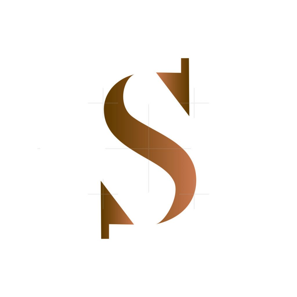 arrow S letter logo