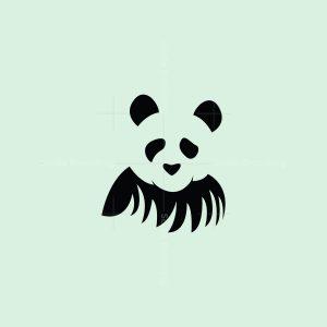 Panda On Grass Logo