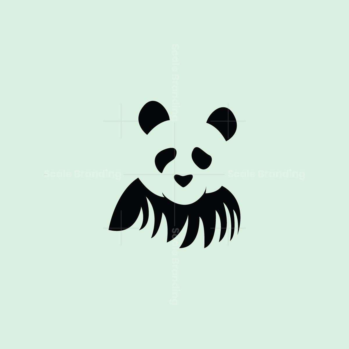 Panda on Grass