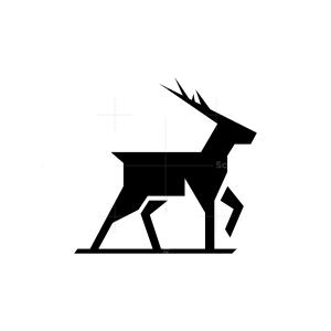Black Deer Logo