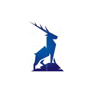 Sharp Rock Deer Logo