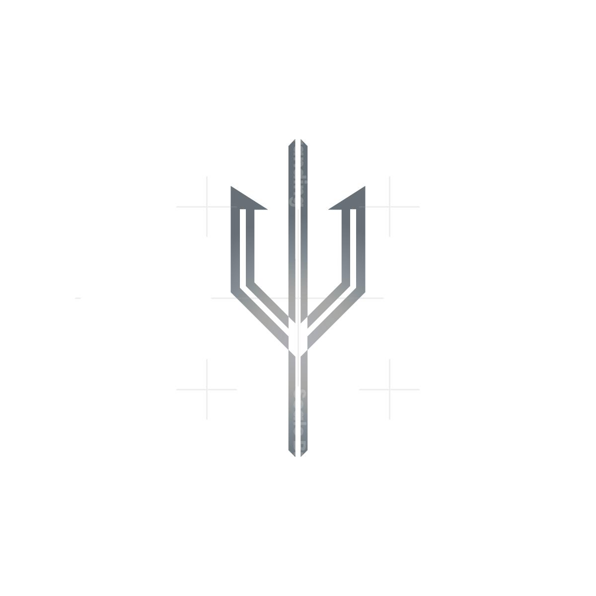 Silver Trident Logo
