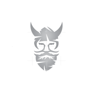 Silver Viking Logo