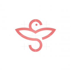 Simple Bird Logo