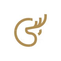 Circle Deer Logo