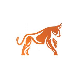 Taurus Logo Charging Bull Logo Capital Bull Logo
