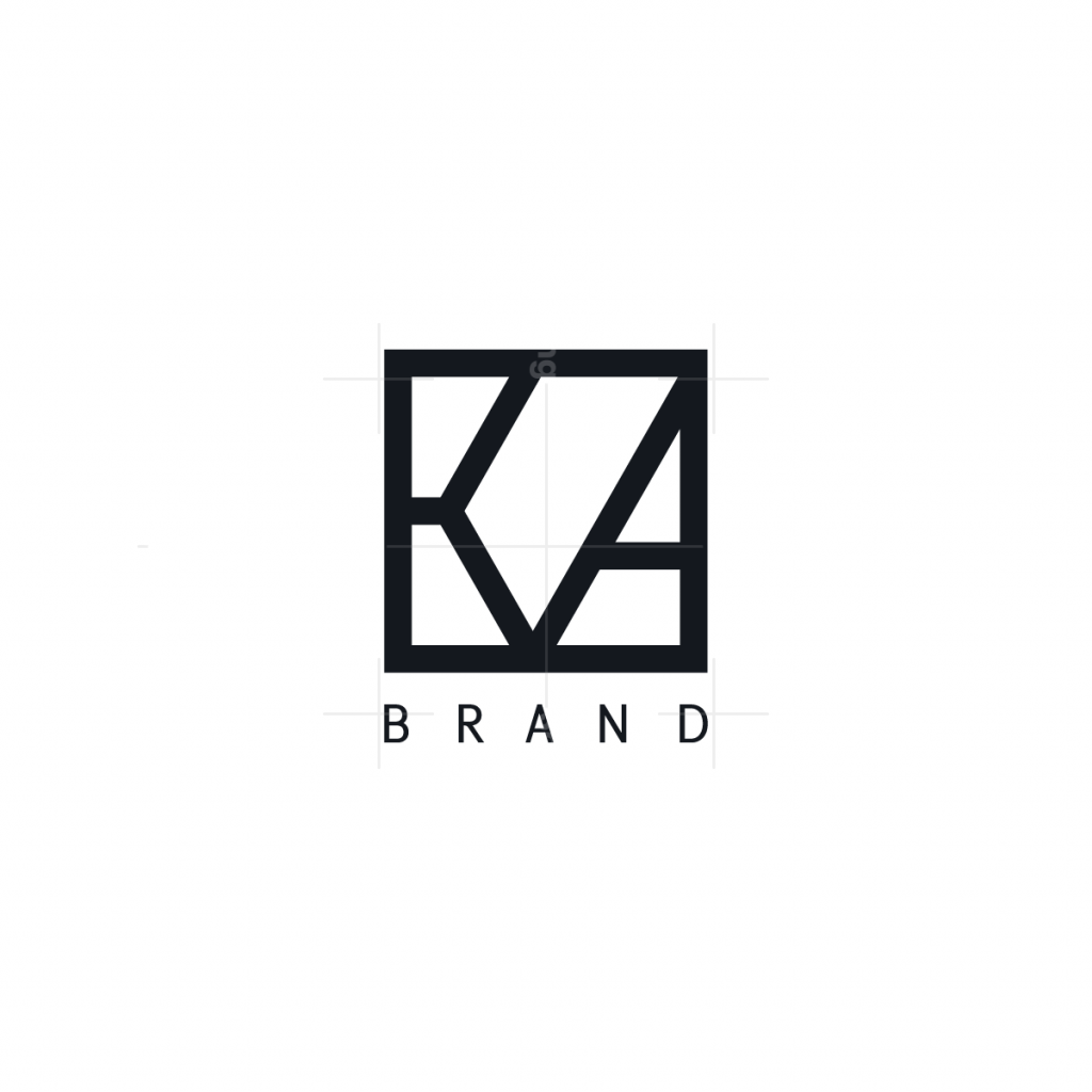 Stylish Letter KA Logo