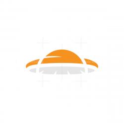 Sunset UFO Logo