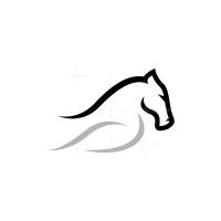 Grey Horse Logo