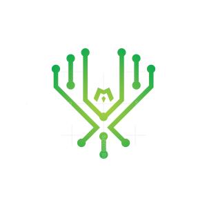 Technology Eagle Logo