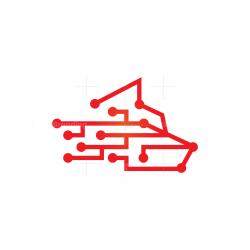 Technology Wolf Logo