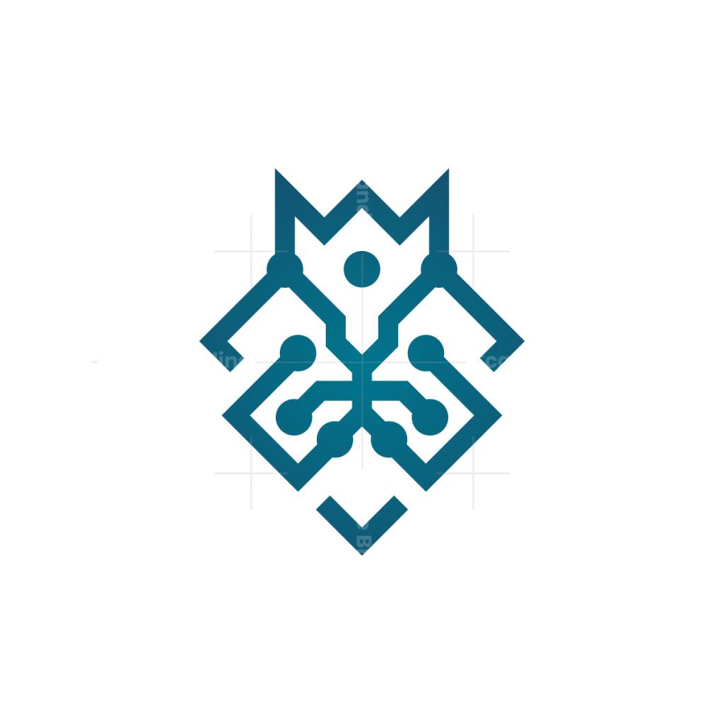 Technology Lion Logo