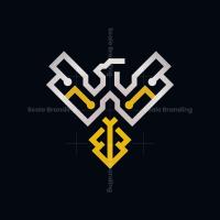 Technology Cyber Phoenix Logo