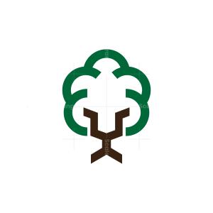 Tree Lion Logo
