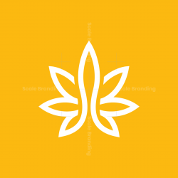White Cannabis Logo