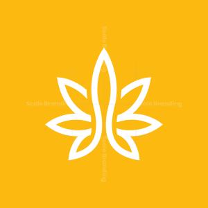 White Cannabis Logo