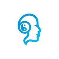 Yin Yang Mind Logo