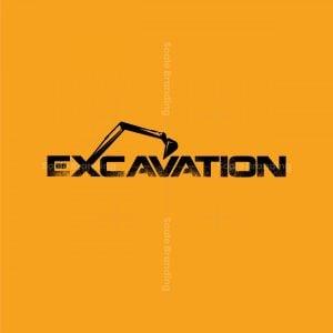 Excavation Company Logo