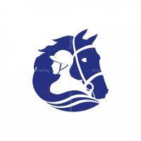 Rider Horse Logo