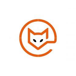 Letter E Fox Logo