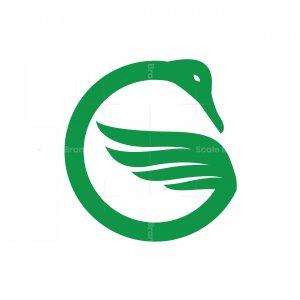 Nice Wing Letter G Logo